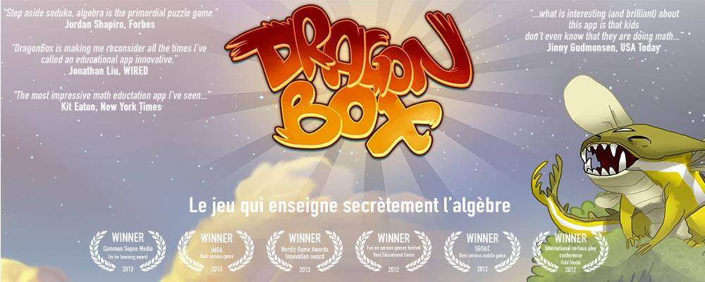 DragonBox page générale - Image titre