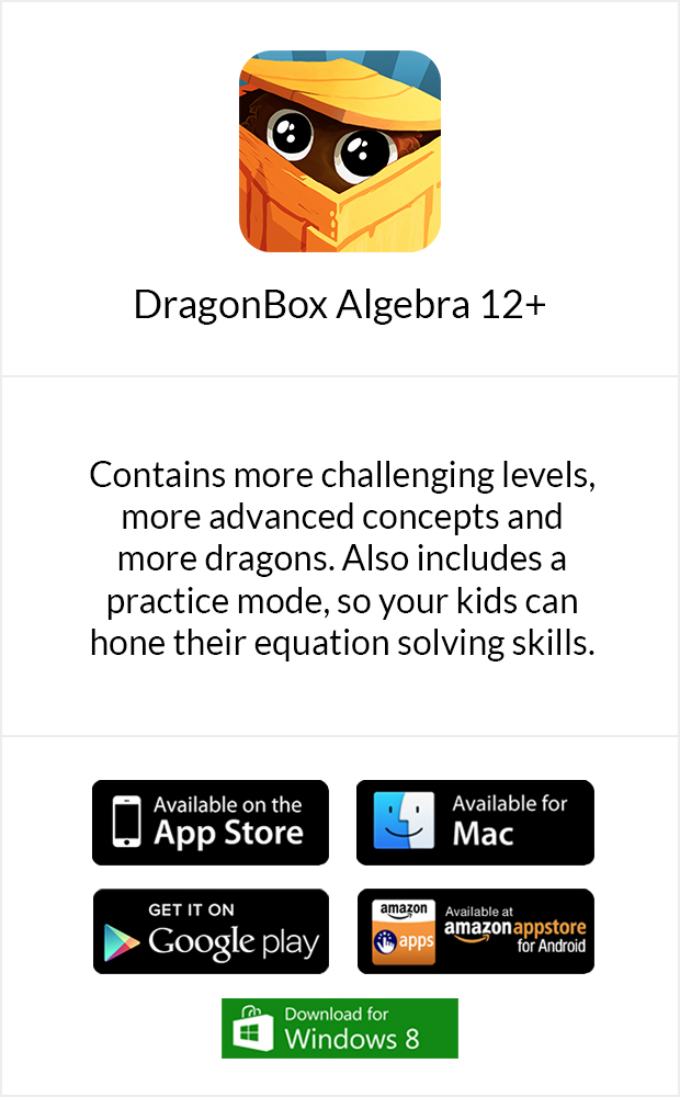 Buy DragonBox Algebra 12+